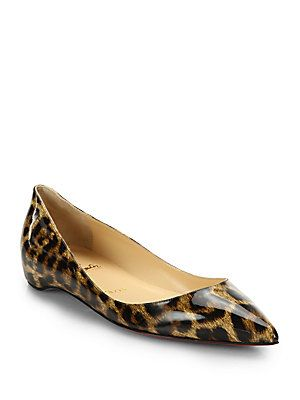 black christian louboutins - My dog ate my last pair. Christian Louboutin Leopard Print Patent ...