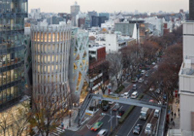 Omotesando Keyaki bldg. 設計 團紀彦建築設計事務所 施工 辰 所在地 東京都渋谷区