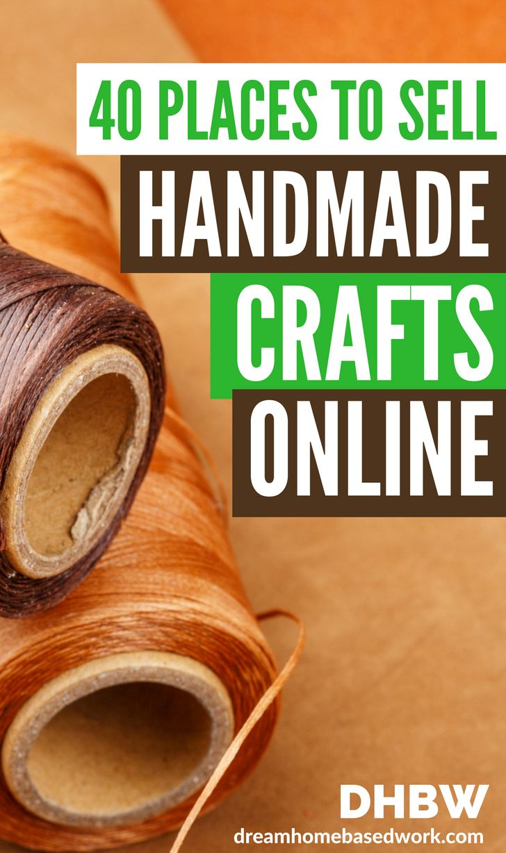 Turn your crafting and artistic hobby to money-making opportunity. Find out which places are the most popular to sell your handmade crafts and art online -  without breaking a sweat!