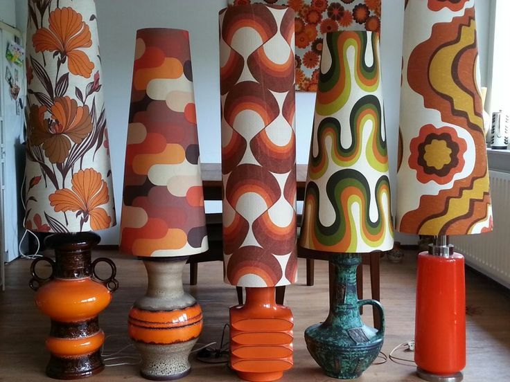 60 S 70 S Lamps In 2019 Retro Lamp Retro Home Decor