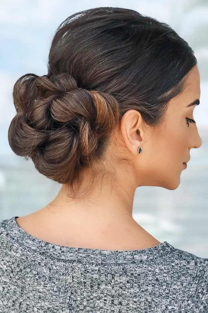 55 Fun And Easy Updos For Long Hair Lovehairstyles Com Easy Updos For Long Hair Long Hair Styles Thick Hair Styles