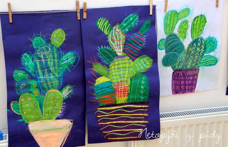 U nás na kopečku: Kaktusy