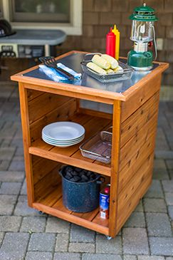 FREE Project Plan Of The Month: Grilling Station   Kreg Ownersu0027 Community
