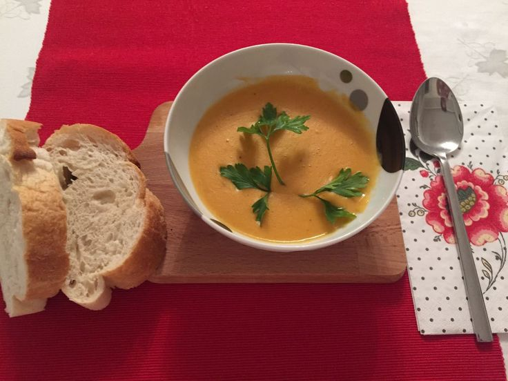 Fall soup recipe: red lentil soup