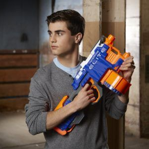 Nerf N-Strike Elite HyperFire Blaster. Check it out at http://amzn.to/2f8iCv0