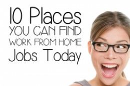 if you are looking for a work from home job, whether full time, part time or seasonal, there are a lot of resources at your fingertips. Mothers...