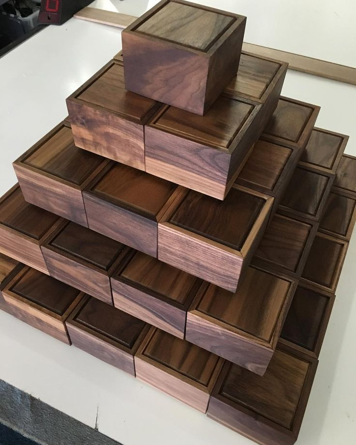 These Handmade Walnut Boxes For Our First 200 American Artisan Series  Version Customers Are Going Fast!