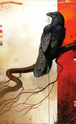 ✿ Craig Kosak Paintings - Sounding 4 ~ 2008 ✿ ~ My Bird, well not 'mine' but, one of my favoured Species. Wonderful piece of Artwork <3 ~