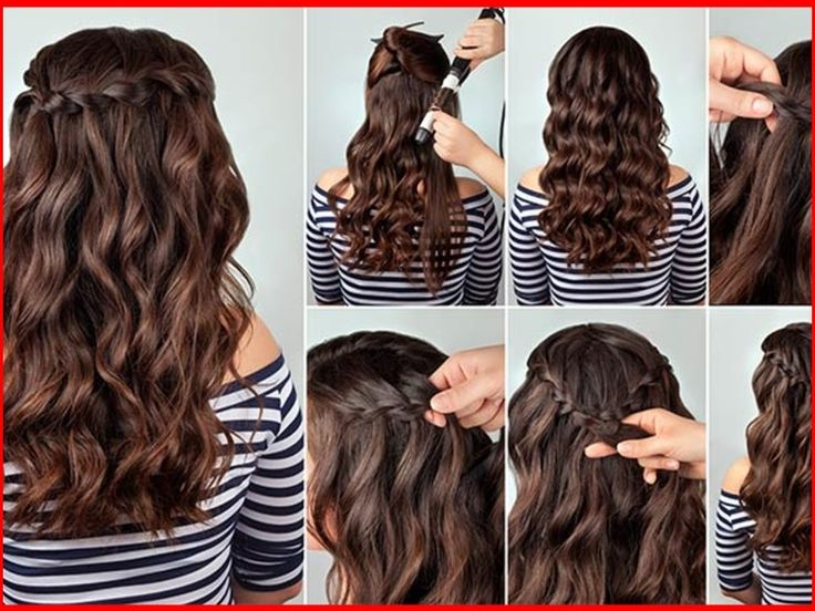 Long Curly Haircuts For Teenage Girls