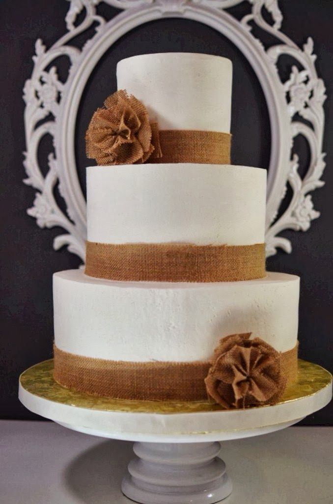 rustic burlap wedding cakes 22 best images about wedding cakes on lace 19489
