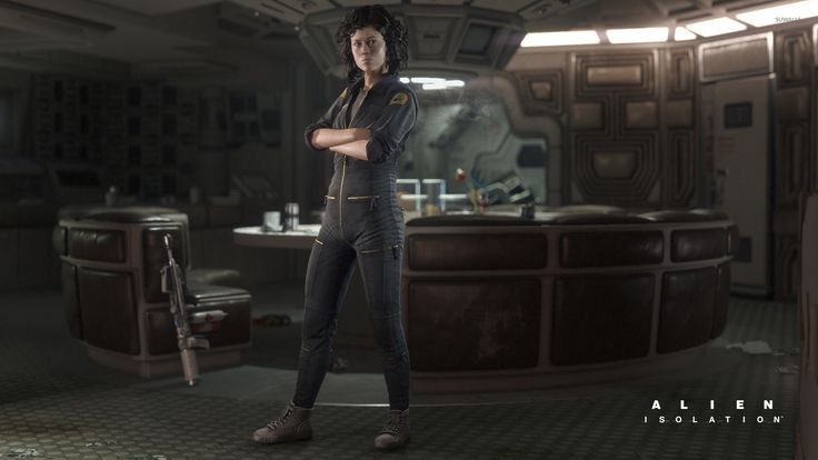 Alien Isolation Wallpapers Group with items