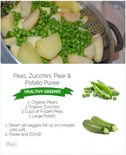11 best baby food recipes stage 2 images on pinterest baby peas pear zucchini potato puree forumfinder Image collections