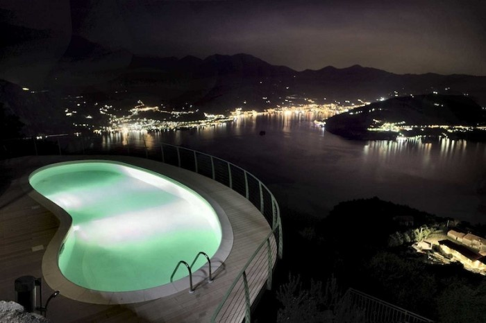 Luxurious apartments at lake Iseo