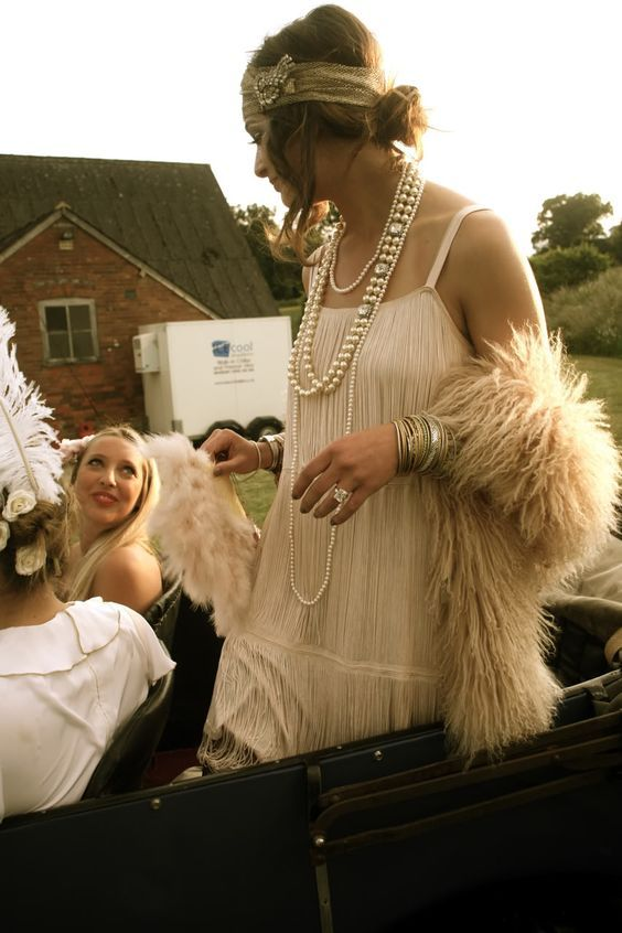 Gatsby Charleston 20er Kostüm selber machen | Kostüm-Idee zu Karneval, Halloween & Fasching