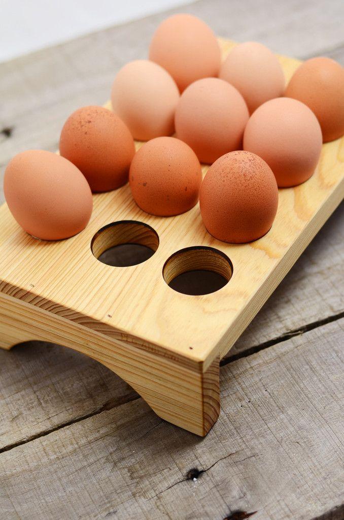Wooden Egg Tray                                                                                                                                                     Más