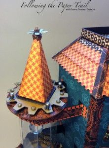 7 Wizard House Front by Following the Paper Trail--G45 Steampunk Spells