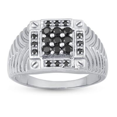Ananta Ring: Rs.3,282    #ring #silver #mens #swarovski