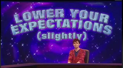 Simon Amstell: Lower your expectations (slightly). Never mind the Buzzcocks