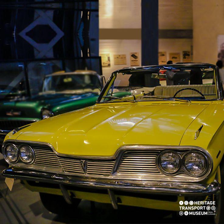 A 1962 Pontiac Lemans Tempest Convertible, the car that is amongst the few monocoque unibody styles!  #pontiac #vintagecars #vintagevehicle #heritagetransportmuseum #transportmuseum #incredibleindia
