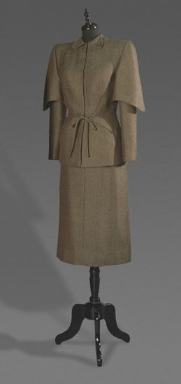Suit    Gilbert Adrian, 1947 #1940s    The Philadelphia Museum of Art