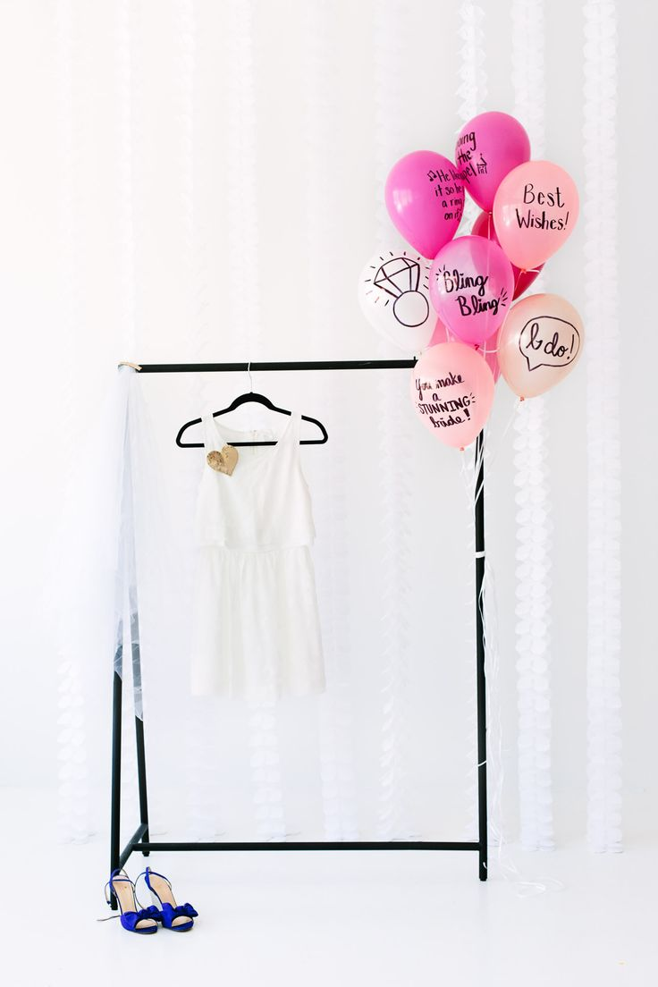 Balloon-Wishes-for-the-Bride-to-Be... Should've done this for the Bridal Shower!