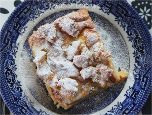 Szarlotka --Polish apple cake. To die for