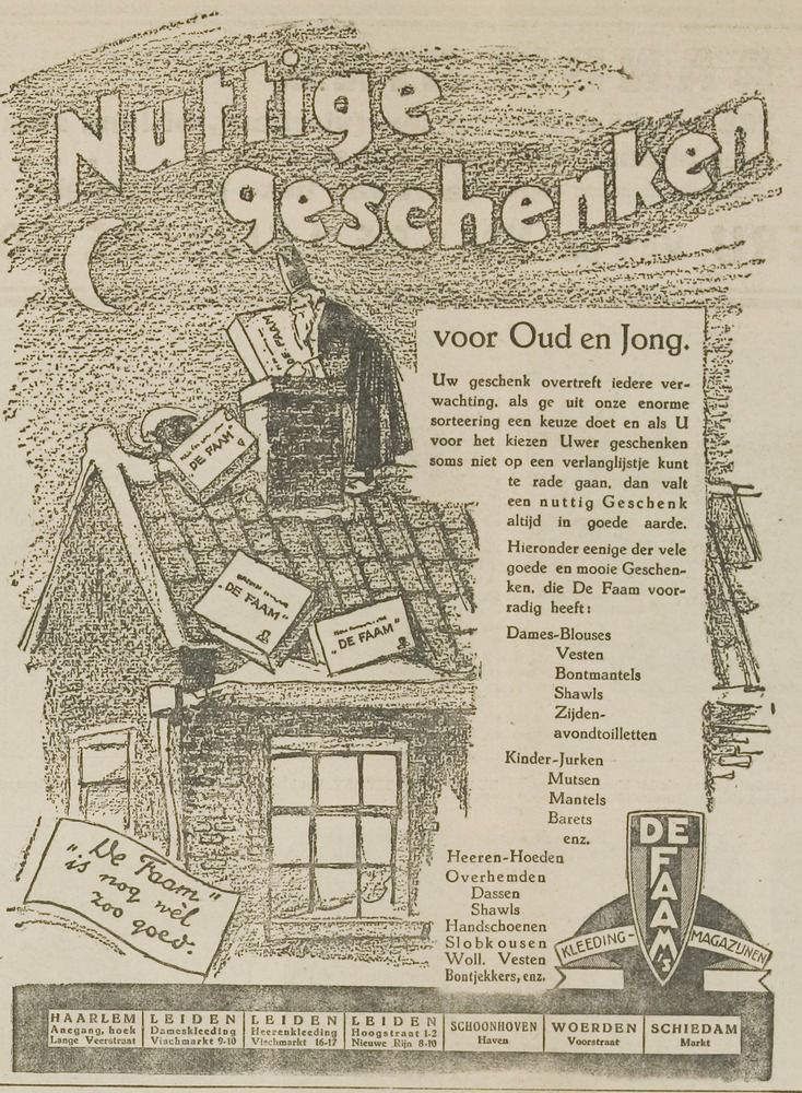Advertentie illustratie 1925