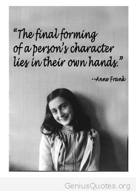 anne frank quotes - Google Search                                                                                                                                                      More