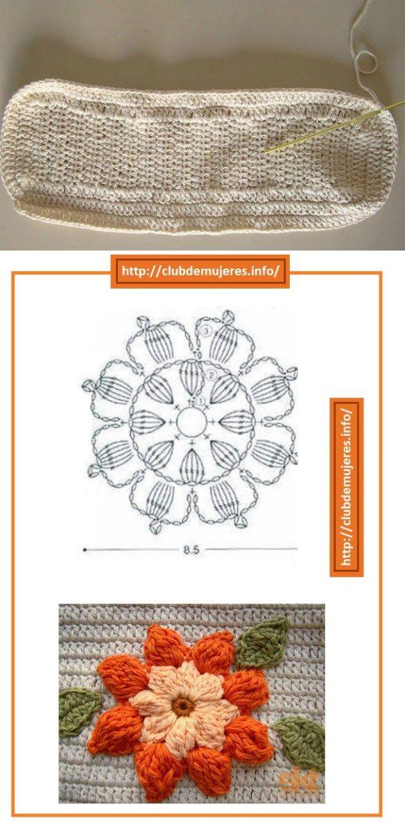 174 mejores imágenes de crochet en Pinterest   Patrones de ganchillo ...