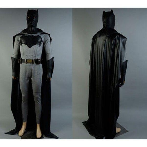 Batman Superman Dawn of Justice Cosplay Batman Bruce Wayne Costume Full Set