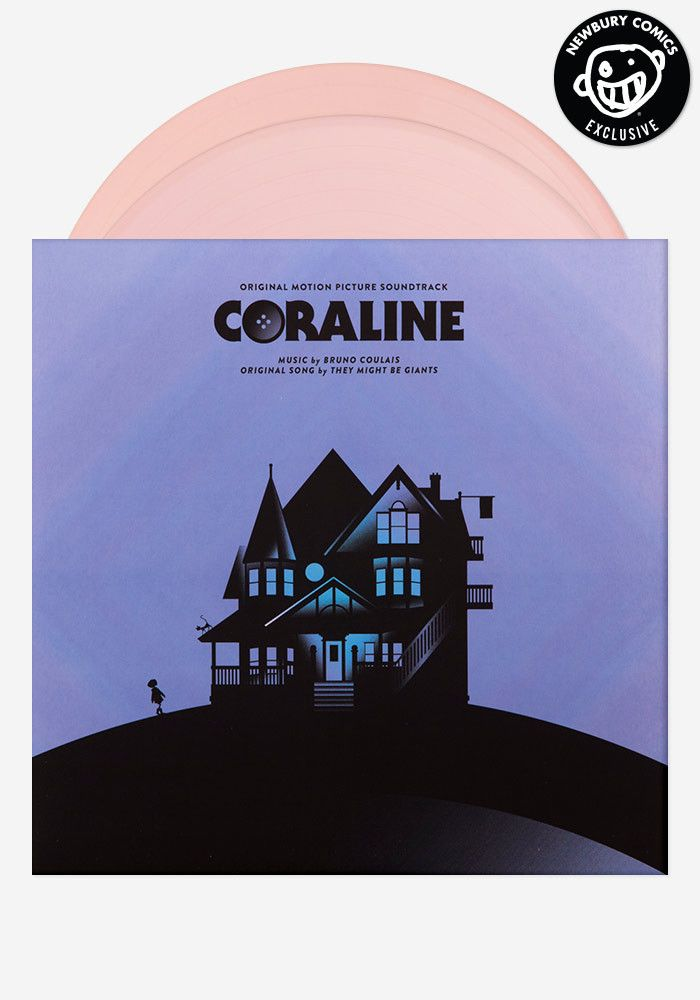 A Newbury Comics exclusive color vinyl pressing. The soundtrack to Coraline is as haunting, as it is whimsical. With the help of the Budapest Orchestra and Choir behind him, composer Bruno Coulais cap