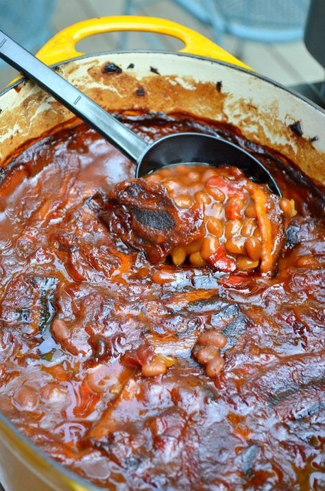Mom's Famous Southern-Style Baked Beans (only recipe I use!)