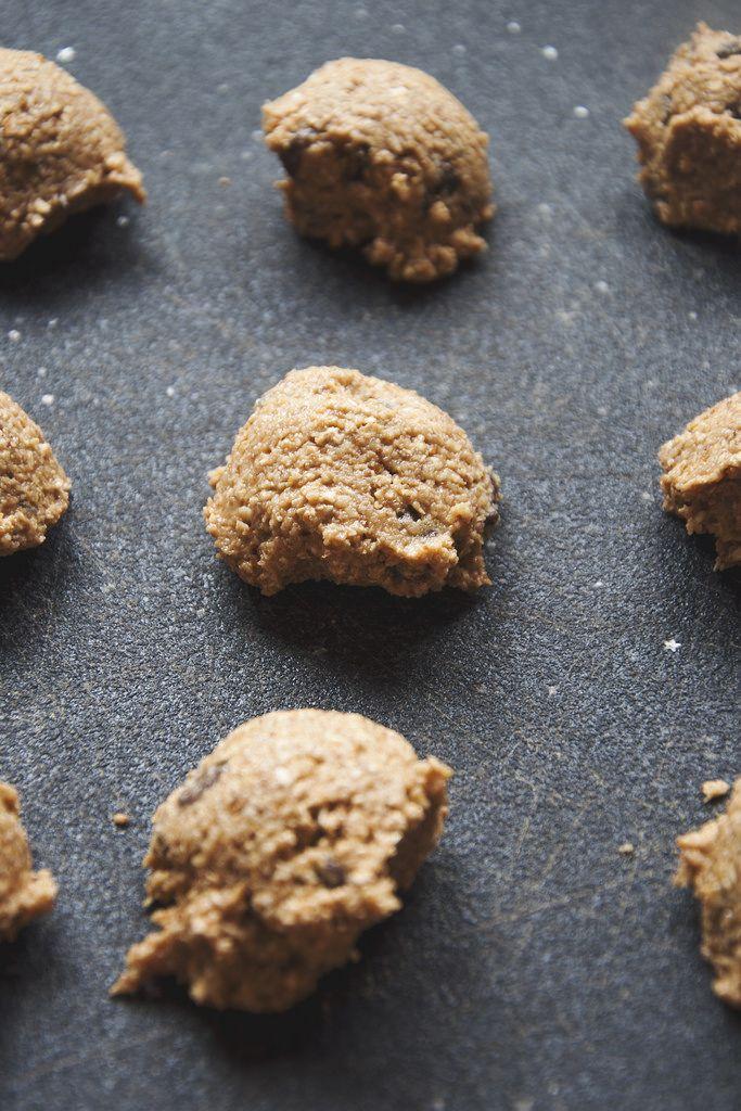 Chocolate Chip Cookie Dough Bites | Vegan Cuisine | Pinterest