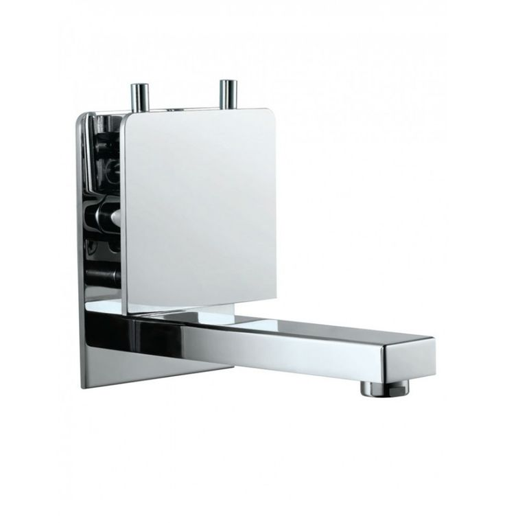 Concealed Wall Mounted Baisn Mixer With Spout (Composite One Piece Body)