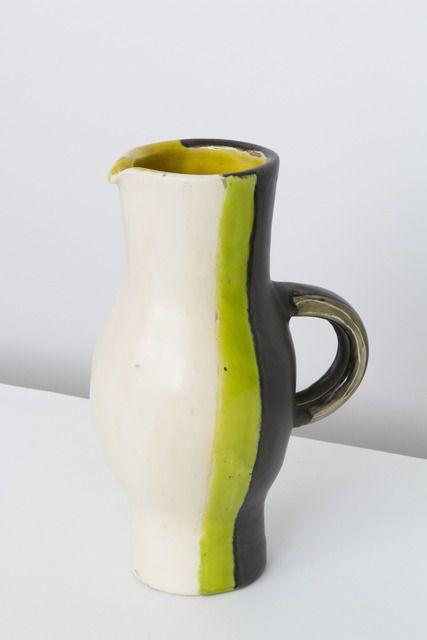 mado jolain glazed ceramic vase c1950 art. Black Bedroom Furniture Sets. Home Design Ideas