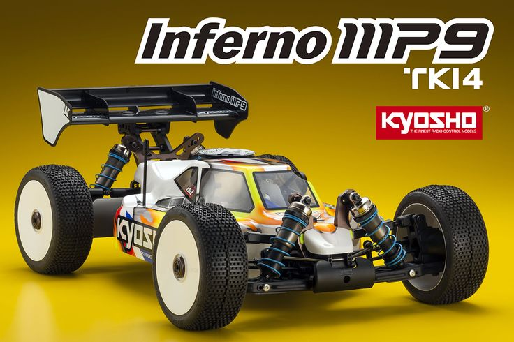 Coming in April: Kyosho Inferno MP9 TKI4