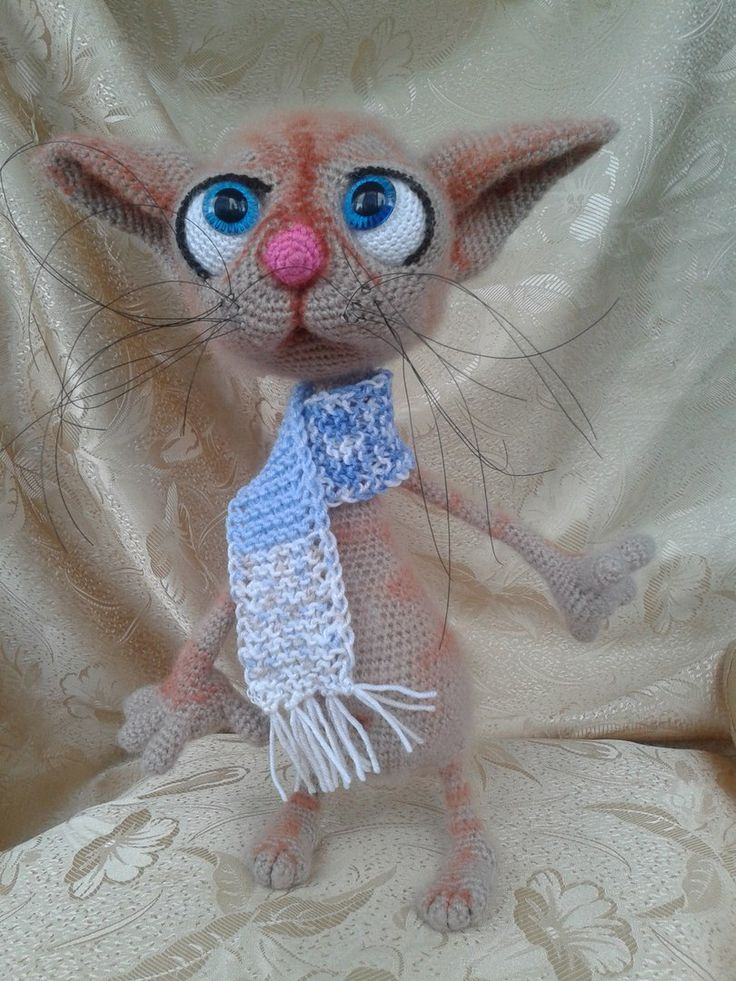 60 best 129 Dobby the sad cat crochet pattern finished projects ...