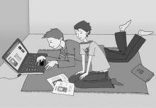 ZAKUPY PRZEZ INTERNET - PODSTAWOWE ZASADY DLA RODZICÓW I DZIECI http://www.konsumenckieabc.pl/