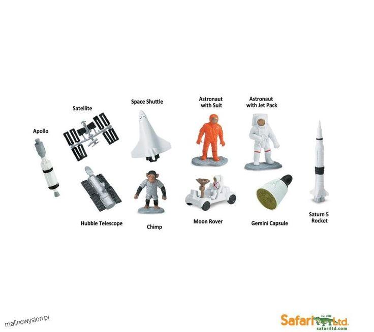 Człowiek w Kosmosie - Figurki Safari w Tubie
