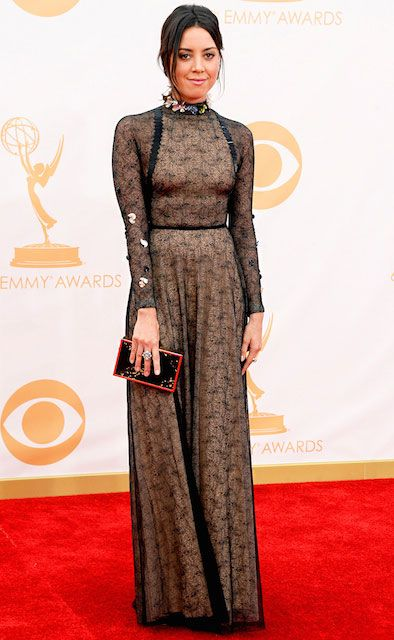 Aubrey Plaza at 65th Annual Emmy Awards...