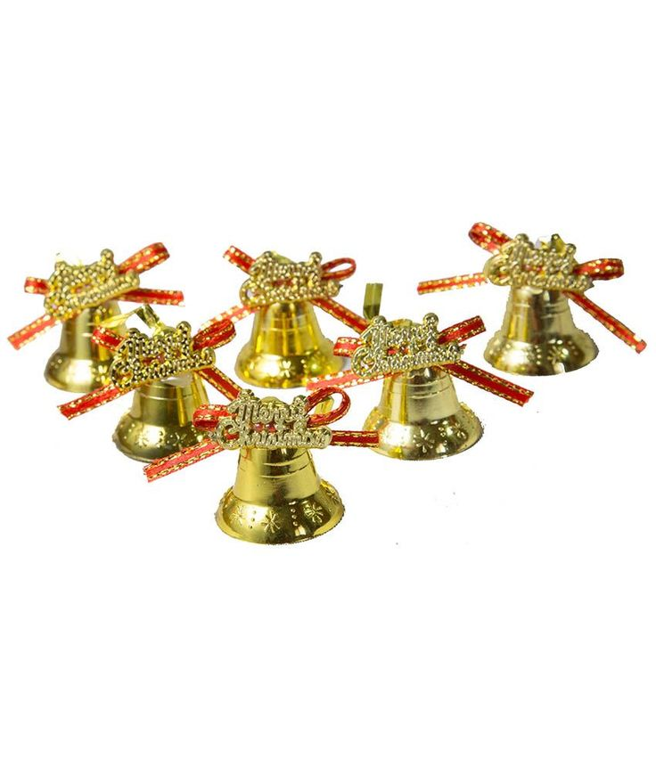 Shop SGS Christmas Tree Hanging Golden Bells - (Set Of 6) online at lowest price in india and purchase various collections of Christmas Tree & Decoration in SGS brand at grabmore.in the best online shopping store in india