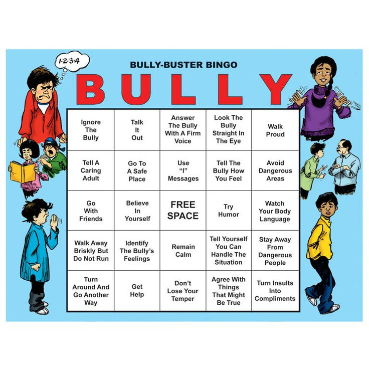 Bully-Buster Bingo presents 26 techniques for reacting to bullies through the familiar game of bingo. Includes an eight-lesson leader's guide with reproducible activity sheets, 30 reproducible bingo b