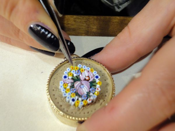 Miniatures have been treasured throughout history for the detail, their size and their artistic expression, so it is no surprise when these micromosaics made from spun enamel glass, that they too w…