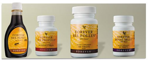 Forever Living Products offers you a remarkable line of 100% natural bee products. Bee Pollen - Royal Jelly - Bee Propolis - Honey Buy online at http://myflpbiz.com/esuite/home/yvonnewhelan/