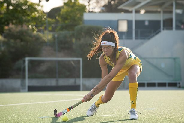 FLIPP Management | Ian and Erick for Red Bull with Aussie hockey player Anna Flanagan
