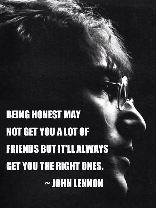 Trust and honesty is the key
