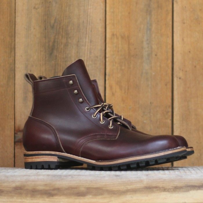 Men's boots built entirely by hand in Boulder, Colorado.