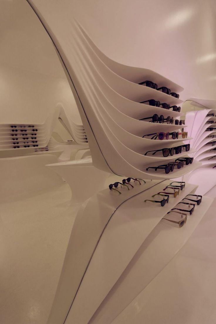Precise optics 02 - Architecture by Omniview #algorithmicdesign #parametricdesign #digitalfabrication #furniture #interiordesign #tsigos #retail