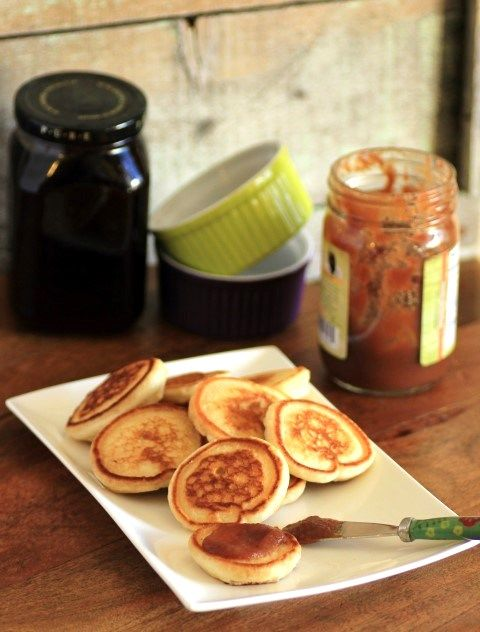 Mini Griddle Cakes for Back to School by Noshing With The Nolands