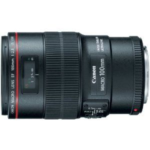 Canon EF 100mm f/2.8L IS USM Macro Lens for Canon Digital SLR Cameras  Canon $949.00